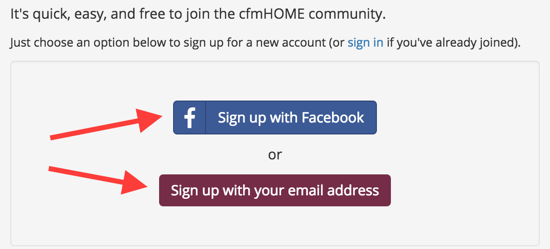 Frequently Asked Questions - Welcome - cfmHOME